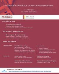 Cartel jornada AEDEN 11 de marzo V4